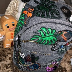 Authentic Marc Jacobs Paradise Patchwork Backpack